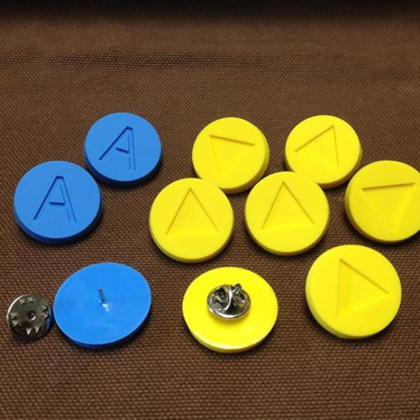 Ocarina of Time Note Pin Sets
