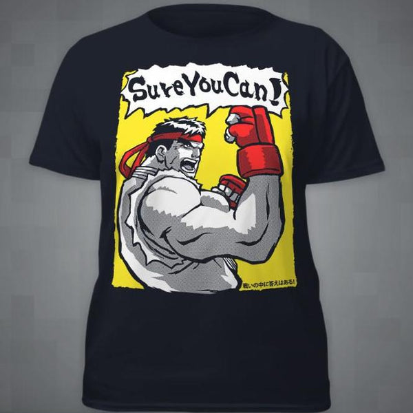 """Sure You Can!"" T‑Shirt"