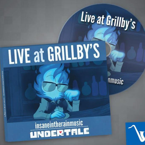 """Live at Grillby's"" Album (plus Digital Download)"