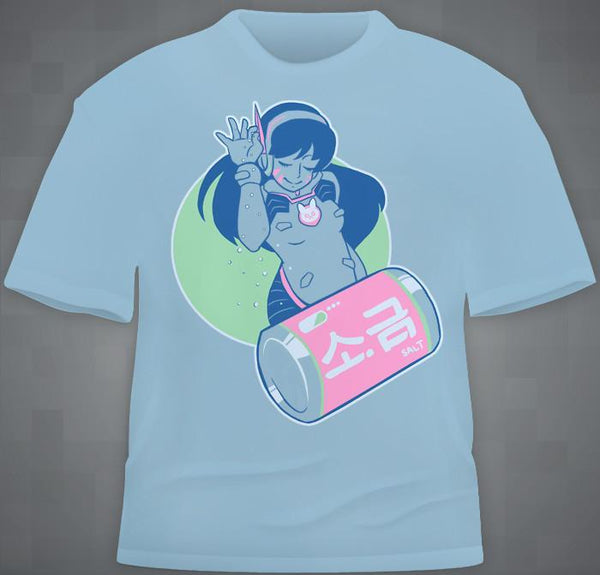 """D.Va Brings The Salt"" T-Shirt"