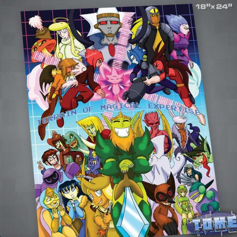 TOME Finale Poster