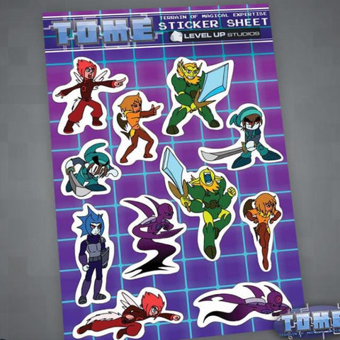 TOME Sticker Sheet