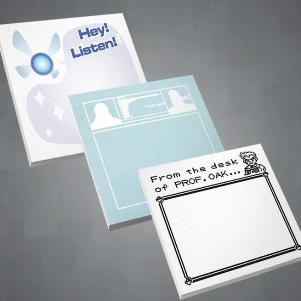 """Gamer Notes"" Sticky Notepads"