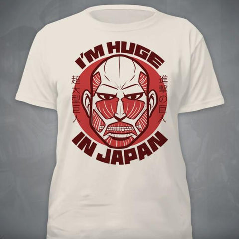 """I'm Huge In Japan"" T‑Shirt"