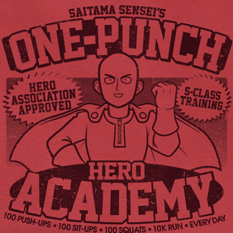 """One-Punch Hero Academy"" T-Shirt & Tank Top"
