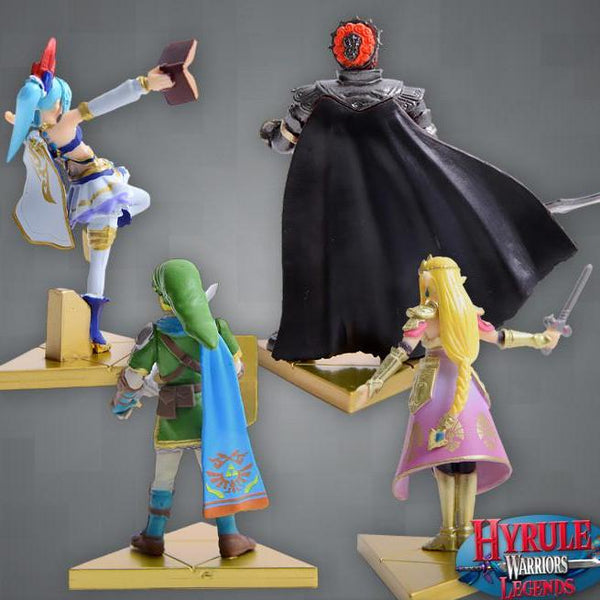 Hyrule Warriors Capsule Figures