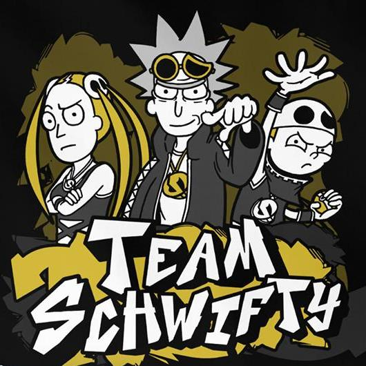 """Team Schwifty"" T‑Shirt"