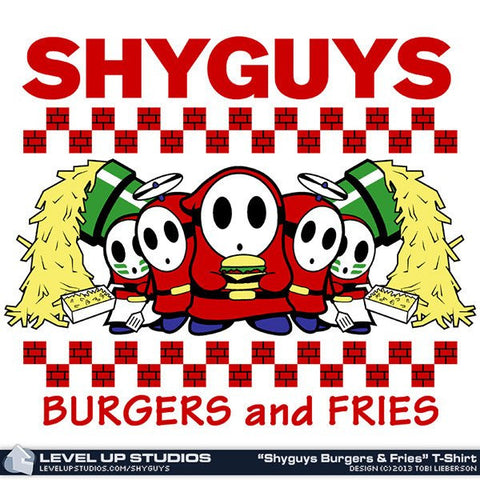 """Shyguys Burgers and Fries"" Pullover Hoodie"