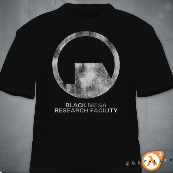 """Black Mesa Research Facility"" T-Shirt"