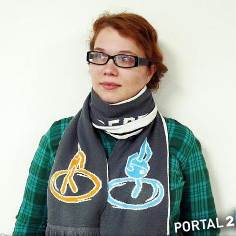 Portal 2 Test Chamber Squares Scarf
