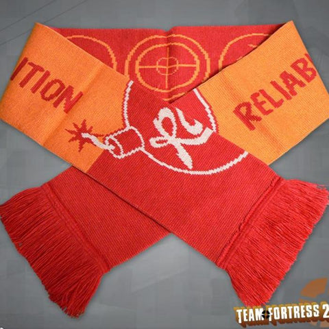Team Fortress 2 RED & BLU Team Scarves