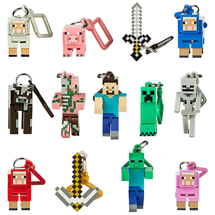 "JINX Minecraft 3"" Figure Hangers Blind Pack, Series 1"