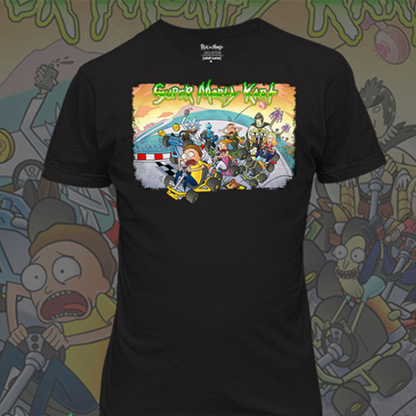 """Super Morty Kart"" T-Shirt"