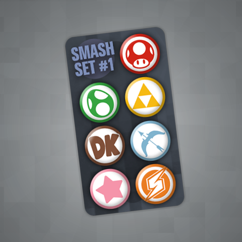 Smash Pin Set #1