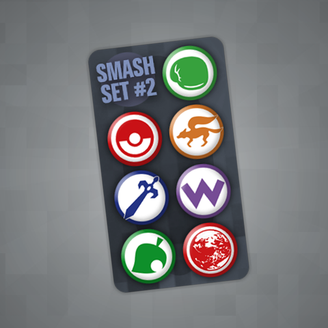 Smash Pin Set #2