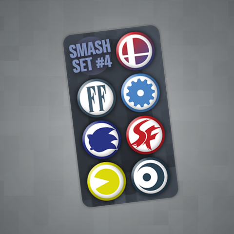 Smash Pin Set #4
