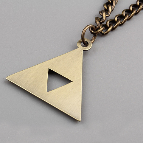 Legend of Zelda Triforce Necklace
