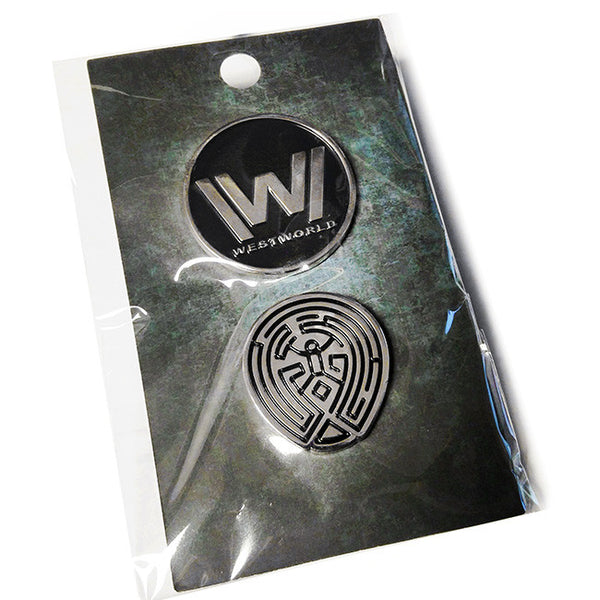 Westworld Pin Set