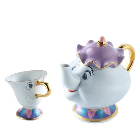 Beauty and the Beast Disney Mrs Potts Teapot Set