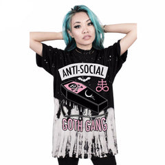 'Anti-Social Goth Gang' T-Shirt