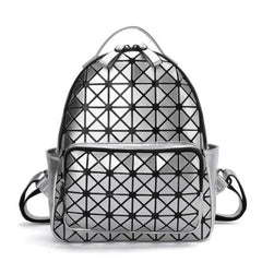 Geometric Hologram Backpack