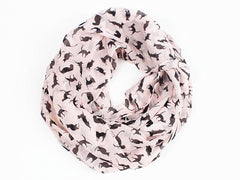 Silk cat scarf