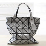 Geometric Metallic Shoulder Bag-Kook Store-Kook Store