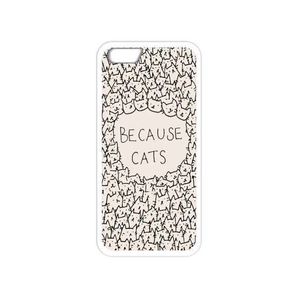 Because Cats Phone Case-Kook Store-Kook Store