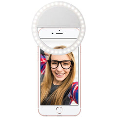 LED Ring Selfie Phone Light