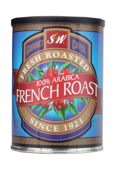 S&W French Roast Coffee (12/11.5 oz Case)