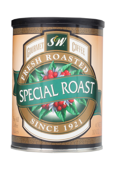 S&W Special Roast Coffee (12/10oz case)