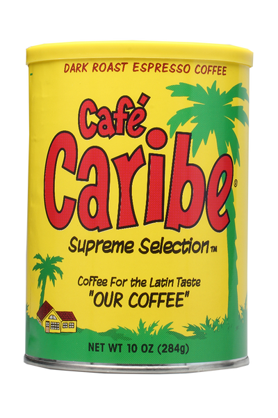 Café Caribe Espresso Coffee Can Case of 12