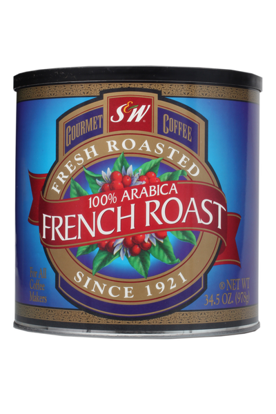 S&W French Roast Coffee (6/34.5 oz Case)