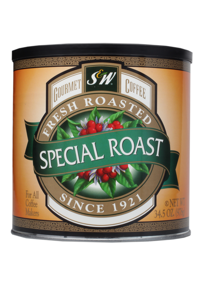 S&W Special Roast Coffee (6/34.5 oz Case)