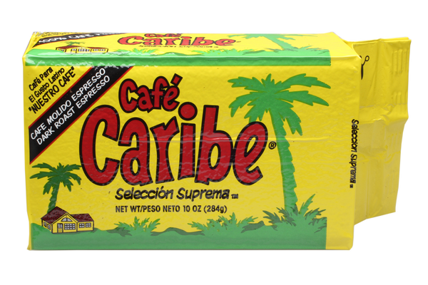 Cafe Caribe Espresso Coffee Brick Pack Case of 12