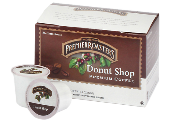 Premier Roasters Donut Shop K-Cup (72 cups/case)