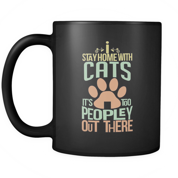 Too Peopley Out There - Mug
