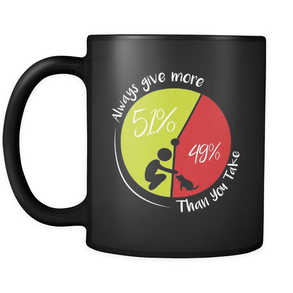 Drinkware - 51/49 - Always Give More - Mug