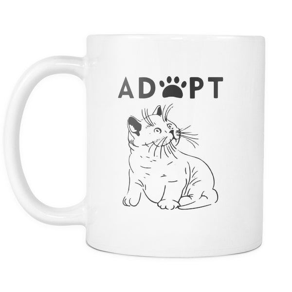 Drinkware - Adopt Kitty - Mug