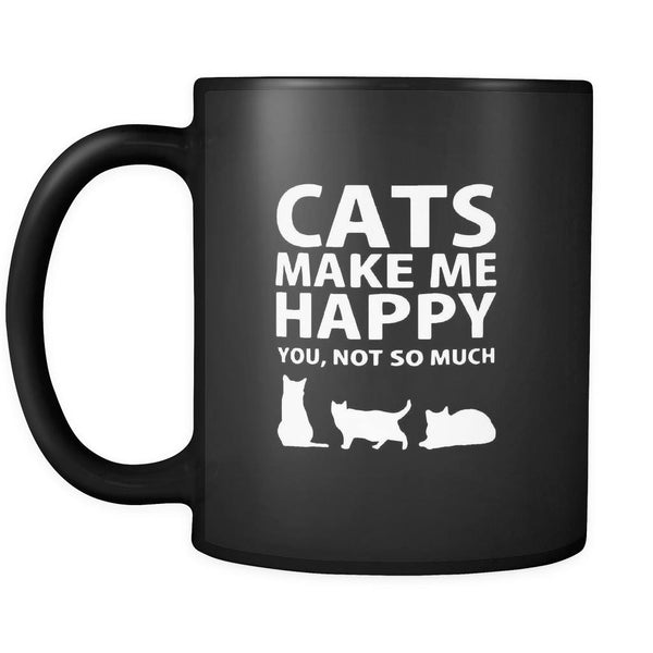 Drinkware - Cats Make Me Happy - Mug