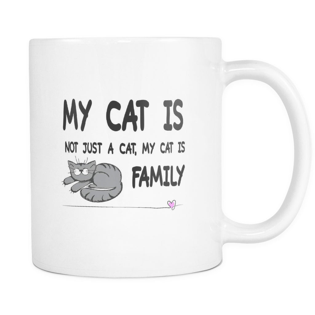 Drinkware - My Cat Is Family - Mug