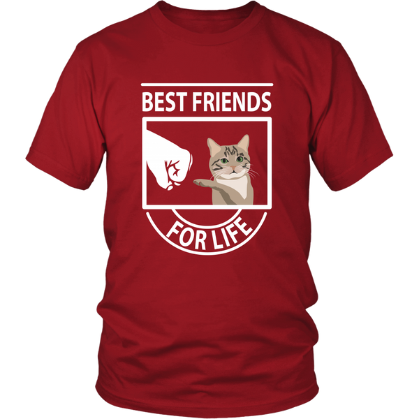 Best Friends For Life (Manx) - Unisex Tee
