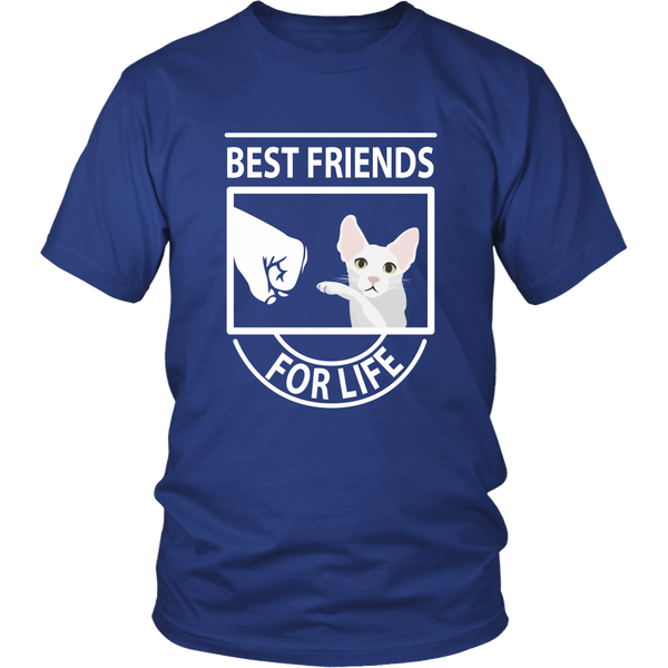 Best Friends For Life (Cornish Rex) - Unisex Tee