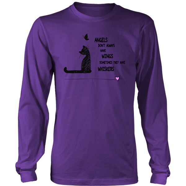 Angels With Whiskers - Unisex Long Sleeve