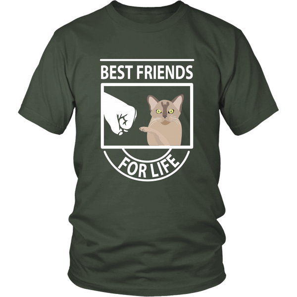 Best Friends For Life (Burmese) - Unisex Tee