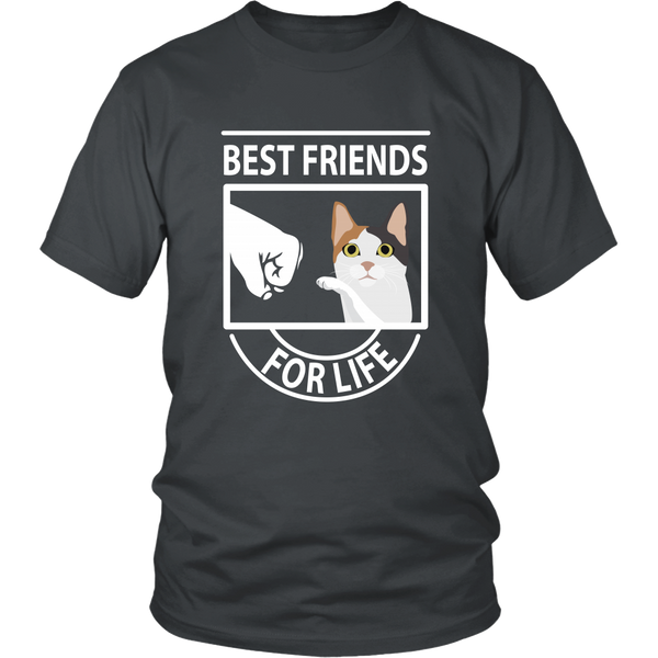 Best Friends For Life (Japanese Bobtail) - Unisex Tee