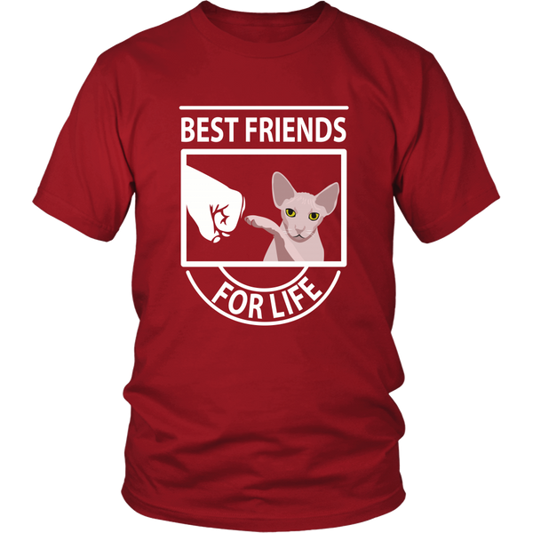 Best Friends For Life (Sphynx) - Unisex Tee