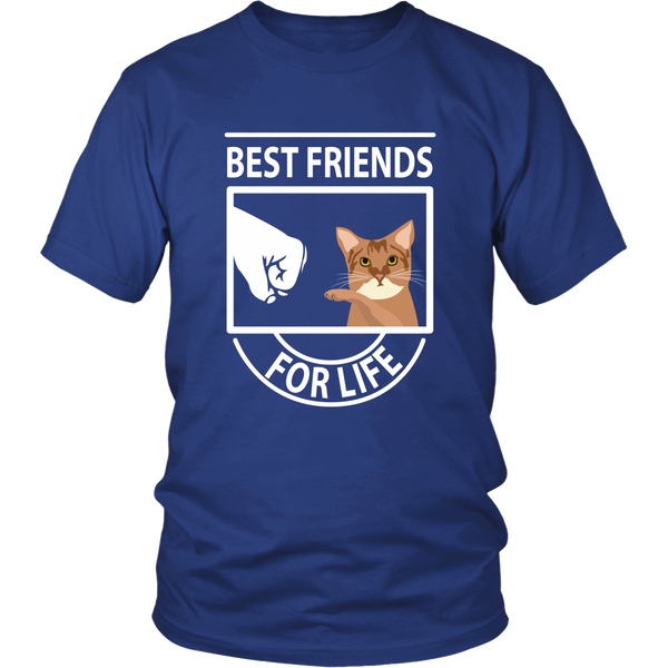 Best Friends For Life (Chausie) - Unisex Tee