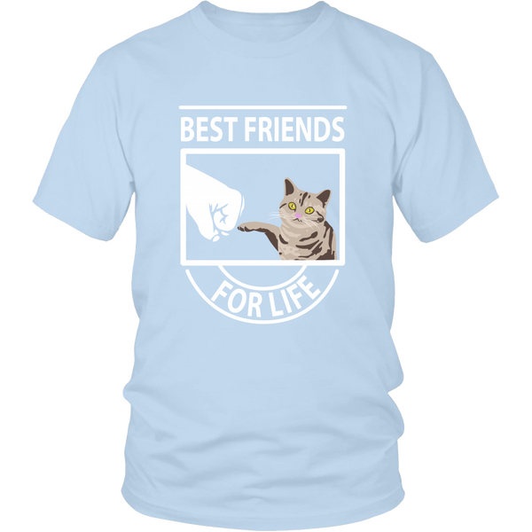 Best Friends For Life (American Shorthair) - Unisex Tee