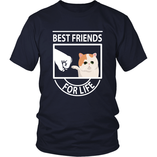 Best Friends For Life (Exotic Shorthair) - Unisex Tee